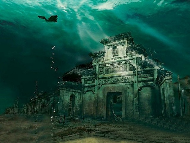 Ancient Underwater City, en Chine (1)