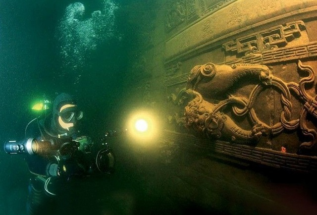 Ancient Underwater City, en Chine (2)