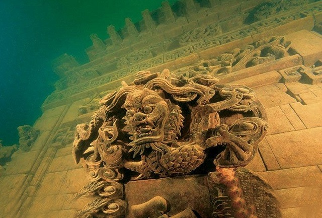Ancient Underwater City, en Chine (3)