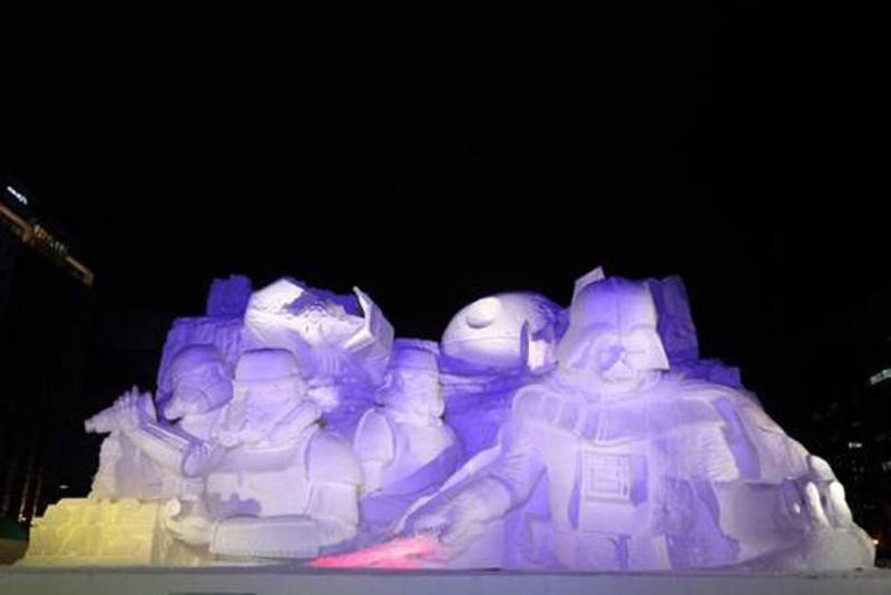 Sculture de neige - Star wars  (20)